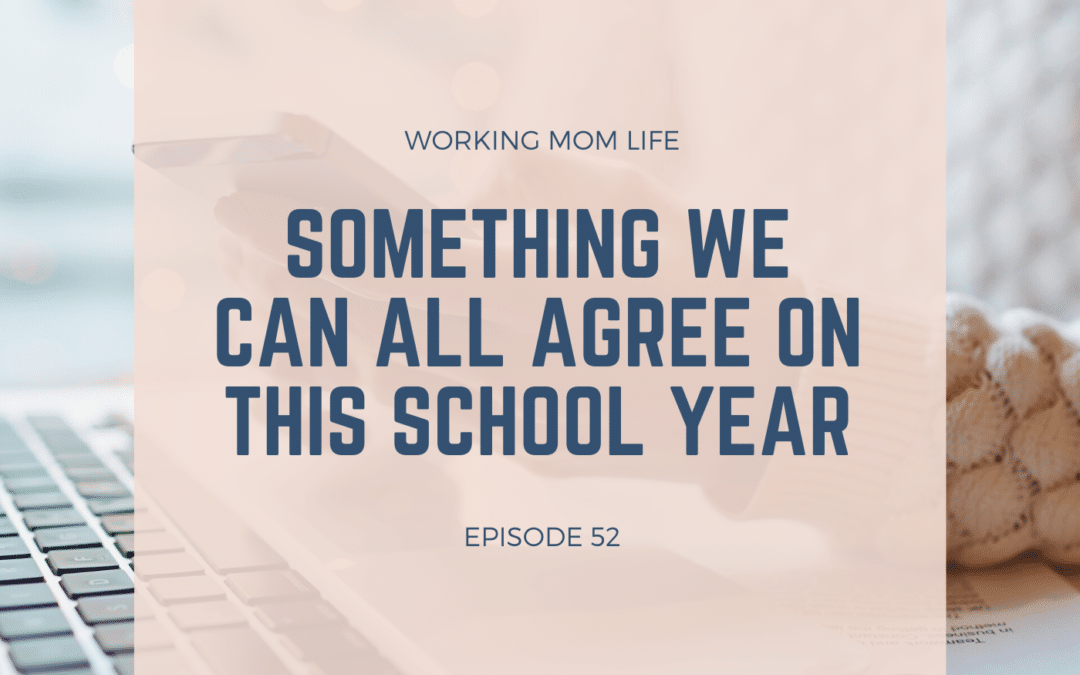 Episode 52 – Something We Can All Agree on this School Year